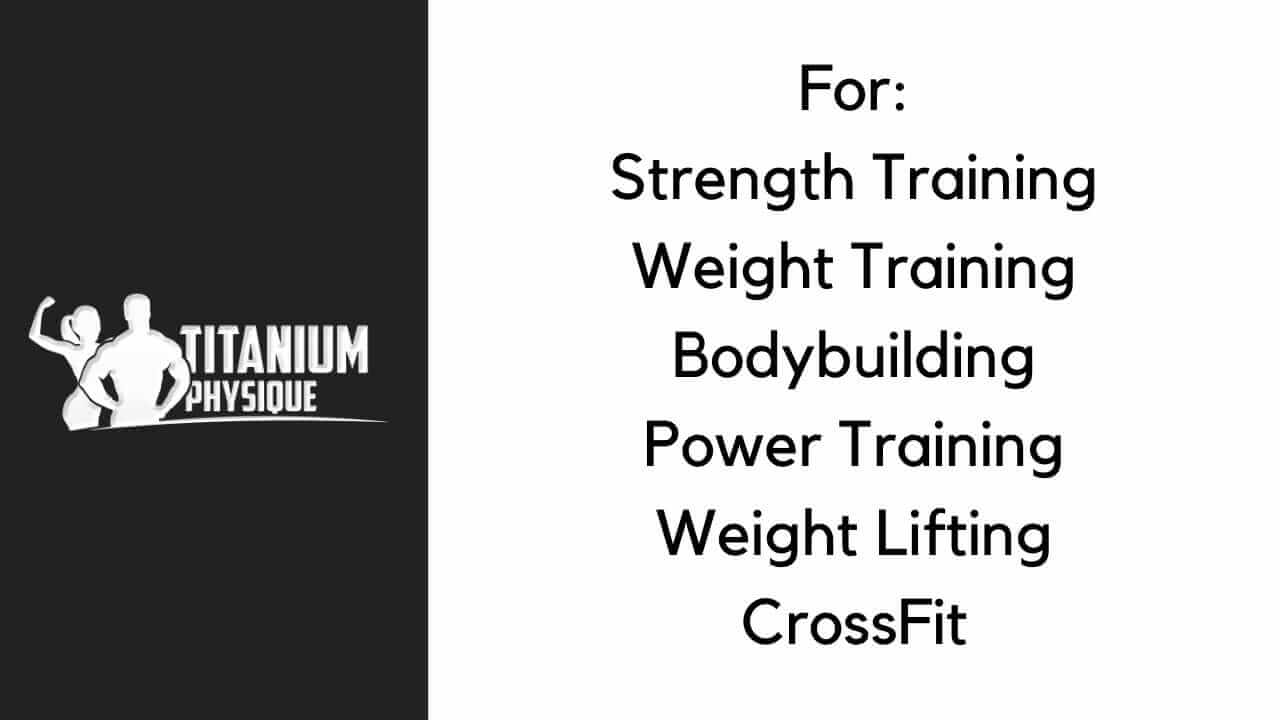 TitaniumPhysique Formula can benefit anyone who does weight training