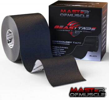 kt sports tape for muscle injury
