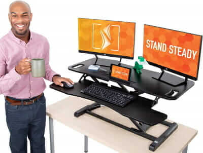 standing desk for lower back pain