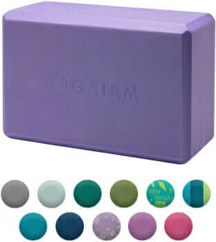 yoga stretching block for therapy