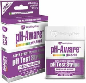 ph test strips test body ph level for alkaline & acidity