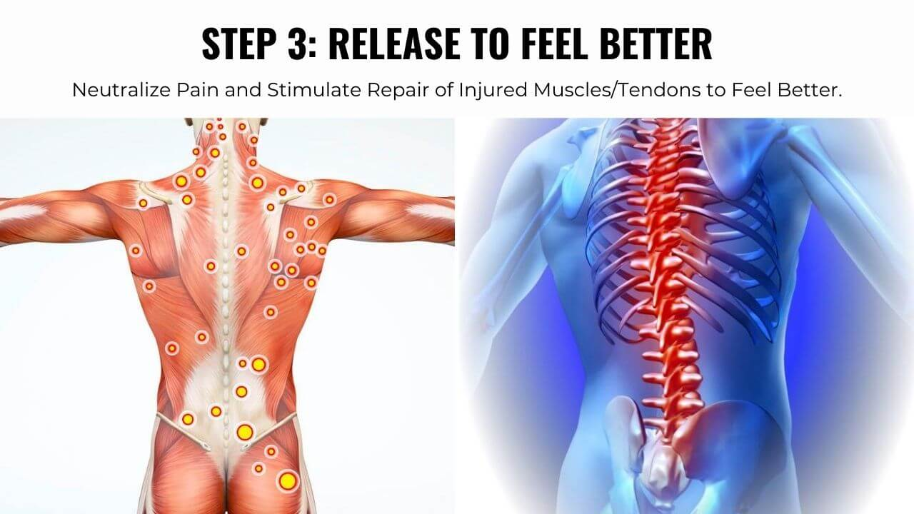 TitaniumPhysique Formula Step 3. Release restricted muscles to feel better.