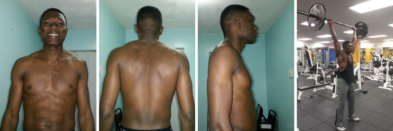 nurudeen tijani fitness transformation 2013