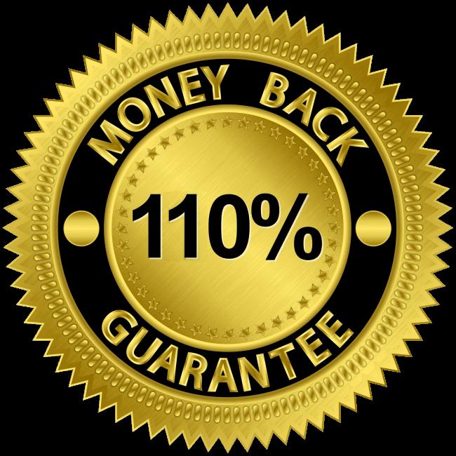 110% risk-free guarantee