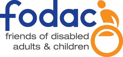 Fodac Friends Of Disabled Adults and Children logo